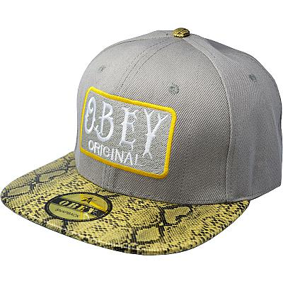 Купить Гламур Obey Original grey / snake / green интернет магазин