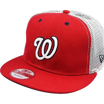 Купить Кепки спорт MLB Washington Nationals red / white / dark-blue интернет магазин