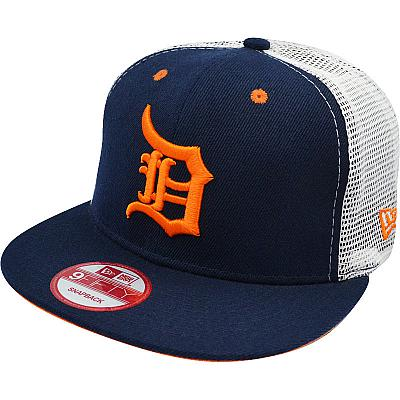 Купить Кепки спорт MLB Detroit Tigers dark-blue / white / orange интернет магазин