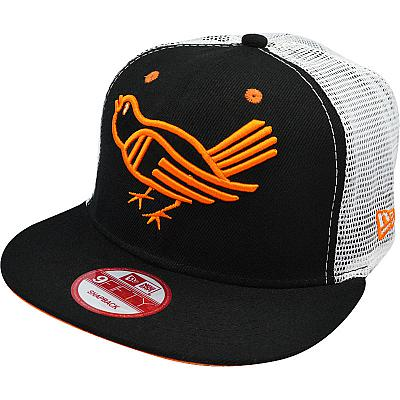 Купить Кепки спорт MLB Baltimore Orioles black / white / orange интернет магазин