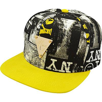 Купить Гламур Hater NY black / white / yellow интернет магазин