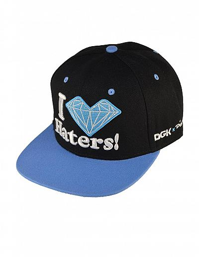 Купить SWAG Diamond I Love Haters black / blue интернет магазин