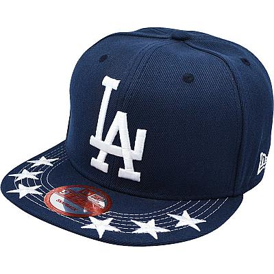 Купить Кепки спорт LA Dodgers dark-blue / grey / white logo интернет магазин