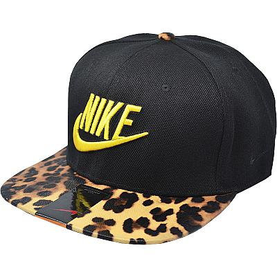 Купить Гламур Nike leopard / black / yellow logo интернет магазин