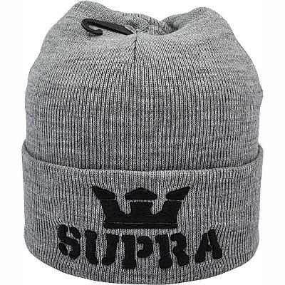 Купить Шапки Hats Supra grey / black logo интернет магазин