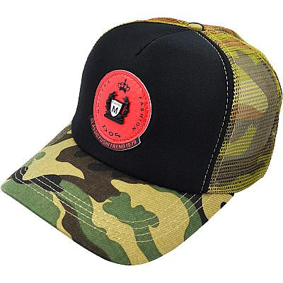 Купить Бейсболки Other тракер Fashion military / black / red logo интернет магазин