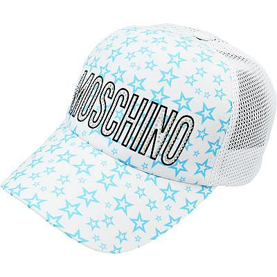 Купить Бейсболки Other Abstract Moschino white / turquoise stars интернет магазин