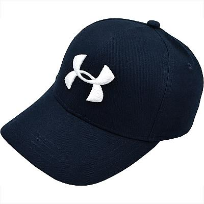 Купить Бейсболки Under Armour dark-blue / white logo интернет магазин