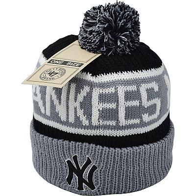 Купить Шапки Hats New York Yankees 47 Brand black/gray/white интернет магазин
