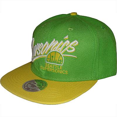 Купить Кепки спорт NBA Seattle SuperSonics Mitchell & Ness интернет магазин