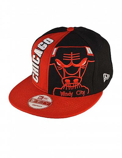 Купить Кепки спорт Chicago Bulls art.5 Snapback red/black интернет магазин