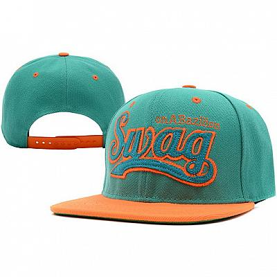 Купить SWAG SWAG on A Bazilion Snapback Green Orange интернет магазин