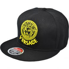 Купить Versace black / yellow logo интернет магазин
