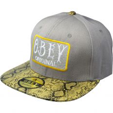 Купить Obey Original grey / snake / green интернет магазин