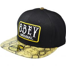 Купить Obey Original black / snake / green интернет магазин