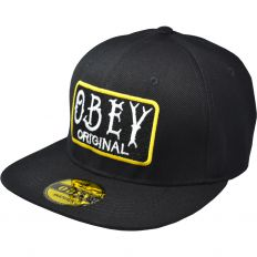 Купить Obey Original black / green интернет магазин