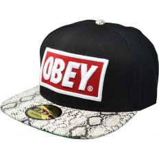 Купить Obey black / snake / green / red-white logo интернет магазин