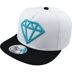 Купить Diamond детская white / black / blue logo интернет магазин