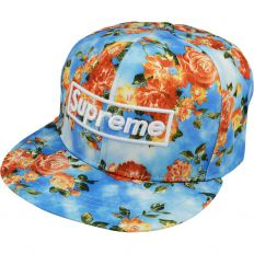 Купить Supreme flowers / blue интернет магазин