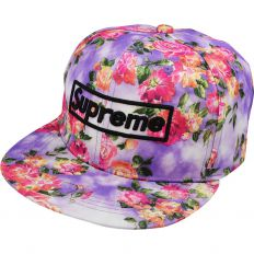 Купить Supreme flowers / purple интернет магазин