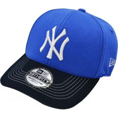 Купить New York без застежки blue / dark-blue / white logo интернет магазин