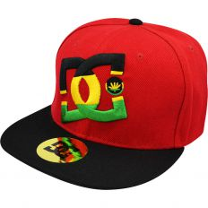 Купить DC red / black / rasta logo интернет магазин