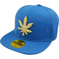 Купить Other Hemp leaf blue / gold logo интернет магазин