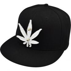 Купить Other Hemp leaf black / white logo интернет магазин