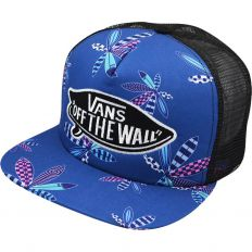 Купить Vans off the wall blue / black интернет магазин