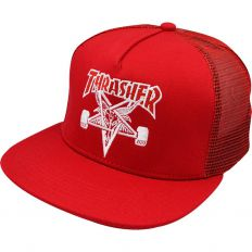 Купить Other Trasher red / white logo интернет магазин