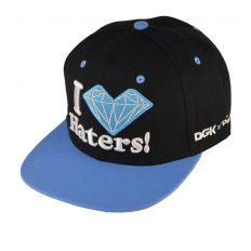 Купить Diamond I Love Haters black / blue интернет магазин