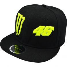 Купить Monster Energy 46 Valentino Rossi black интернет магазин