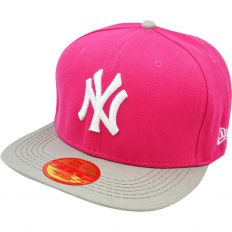 Купить New York pink / grey / white logo интернет магазин