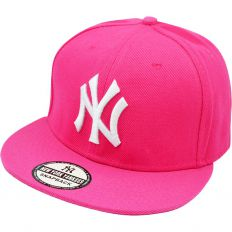 Купить New York pink / white logo интернет магазин