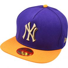 Купить New York purple / orange / gold logo интернет магазин