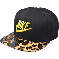 Купить Nike leopard / black / yellow logo интернет магазин