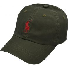 Купить Polo dark-green / red logo интернет магазин
