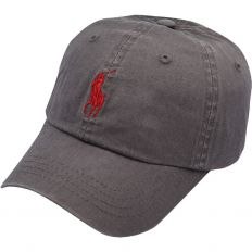 Купить Polo grey / red logo интернет магазин