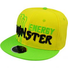 Купить Monster Energy yellow / green / black logo интернет магазин