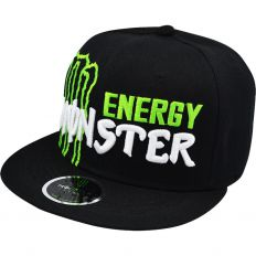 Купить Monster Energy black / green-white logo интернет магазин