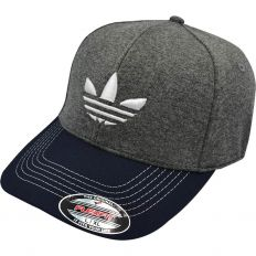 Купить Adidas без застежки grey / dark-blue / white logo интернет магазин