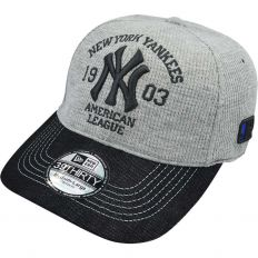 Купить New York без застежки American league light-grey / black интернет магазин