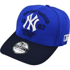 Купить New York без застежки American league blue / dark-blue / white logo интернет магазин