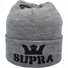 Купить Hats Supra grey / black logo интернет магазин