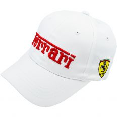 Купить Auto Ferrari white / red logo интернет магазин