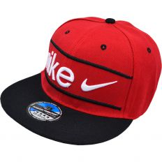 Купить Nike Big logo white / red / black интернет магазин