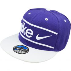 Купить Nike Big logo white / purple / white интернет магазин