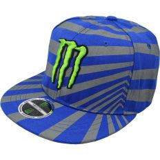 Купить Monster Energy lines blue / grey интернет магазин