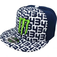 Купить Monster Energy 43 dark-blue / white интернет магазин