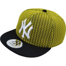 Купить New York детская yellow / black / white logo интернет магазин